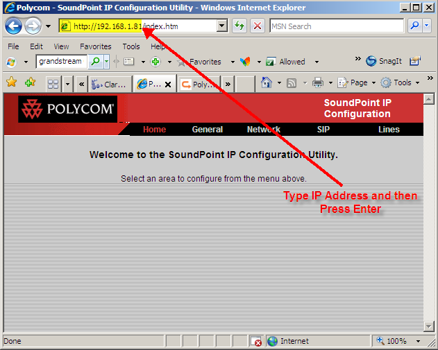 Polycom General Configuration - IPitomy Wiki